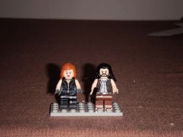 Lego Star Wars Mara Jade and Talon Karrde by BrigadierDarman