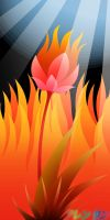 Fire Lotus by Humble-Novice