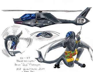 Jock the Black Helicopter by Legendary-Airliners