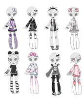 +Outfit Adoptable Mix 12 [ CLOSED ] by Hunibi
