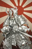 Ultimate Silver Samurai by diablo2003