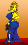 Alexis Texas simpsons style by Antonissen