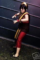 Toph firenation by XxMyxWouldxX