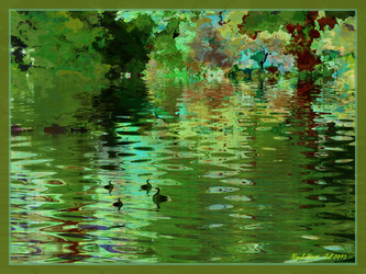Broadditch Pond - The Baby Sitter by Nigel-Hirst