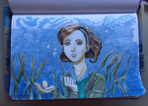 Shape of Water by soletine