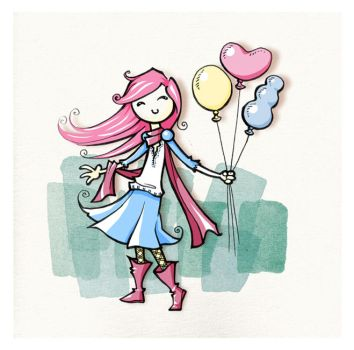 balloons by Veronica-Rodriguez