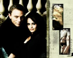 James Bond and Vesper Lynd by topoftheiceberg