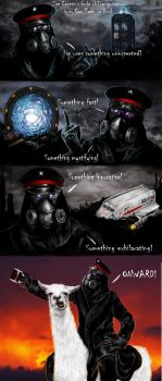 Zee Captain Rides in Style by stargate4ever23