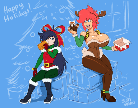Obligated Holiday Picture by SutibaruArt