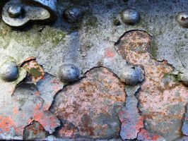 rusty metal by Meltys-stock