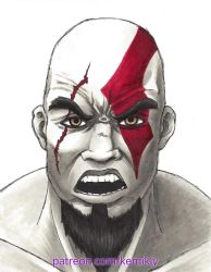 Kratos by KemikLy