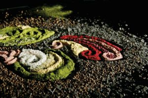 Culinary Sand Painting by Battledress