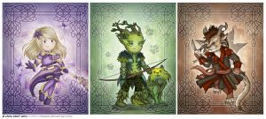 Mesmer, Ranger, and Thief by Isriana