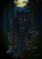 Everything Will Be Alright Big Wolf by Wolf-of-DirtyPaws