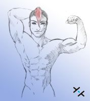 Muscle study by LexxLife