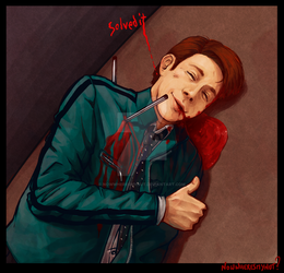 Dirk Gently: words no good because blood all gone by nowwheresmynut