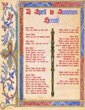 Witches Spell from Macbeth Illumination by disneyfreak19