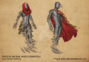 Tales of Arcana 1st Set - Wind Elementals by TalesofArcanaRPG