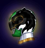 Power Rangers Megaforce Green Ranger by blueliberty