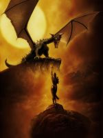 The Girl And The Dragon by Vehemel