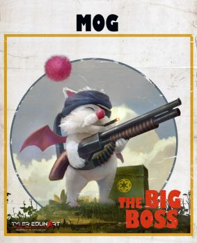 Mog the big boss by TylerEdlinArt