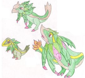 Fakemon Starter Grass by kagaminetim