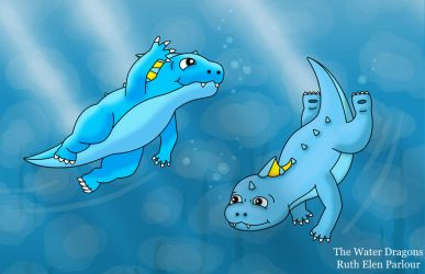 The Water Dragons by Ruth-Ellen-Parlour