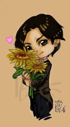 Mj chibi sunflowers by Giulyblader