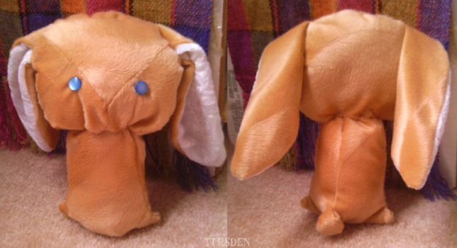 bunny plush abomination by tirsden