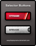 Selector Buttons - .psd by easydisplayname