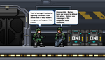 Marines talking about Guard Duty by BeeWinter55