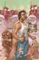 BIG TROUBLE IN LITTLE CHINA 1 Cover by TerryDodson