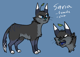 saria ref the threequel by CrookedLynx