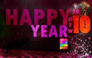 bye 2009- happy new year 2010 by ahmed7