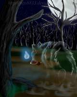 ::Ghost wolf Guardian:: by neo8833