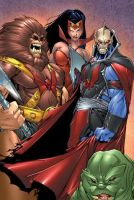 Hordak, Catra, Grizzlor, Leech by shawnmp