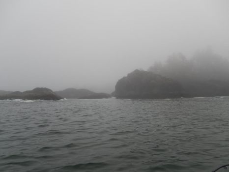The Gull Islands in Fogust by northernfly