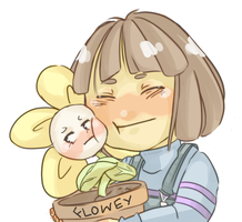 Undertale - Best Friends Forever (Color) by Kirabook