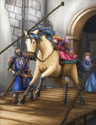 Escape From The Castle by mallettepagan0