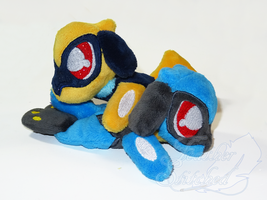 Riolu Pair of Beanies by FeatherStitched
