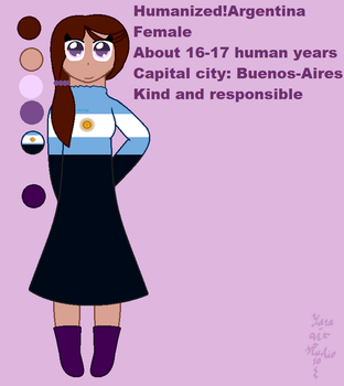 Little reference of Humanized!Argentina by Yara-Art-Studio10