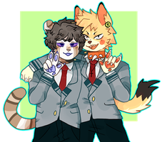 Bnha Furry by fruitgutz