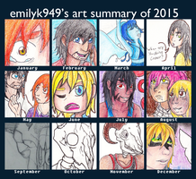 Art Summary 2015 by emilyk949
