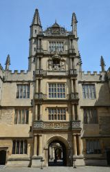 Tower of the Five Orders, Oxford by Irondoors