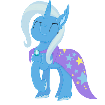 The Great and Powerful Trixie by RandomeLight