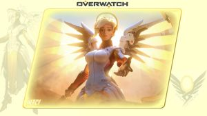Overwatch #3: Mercy by Holyknight3000