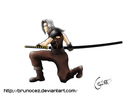 Young Sephiroth - Final Fantasy 7 by BrunoCez