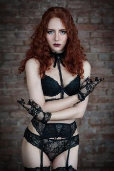 Black lace_2 by GreatQueenLina