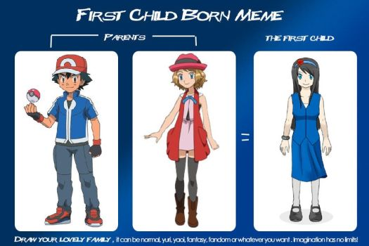 The Ketchum Family's 1st Child (Amourshipping) by WillDynamo55