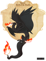 PKMNation:: Ajatar, Devil of the Woods *100* by Attack-At-Dawn
